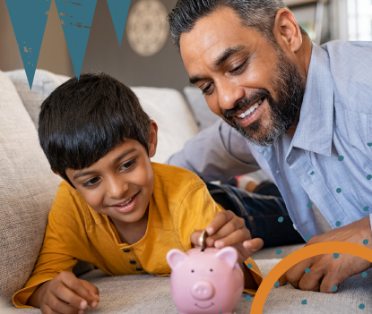 Saving can be fun too. Check out this webinar to get your kids started on their first budget! image